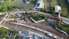 Taïwan: 18 morts dans l'accident de train, selon un bilan révisé à la baisse