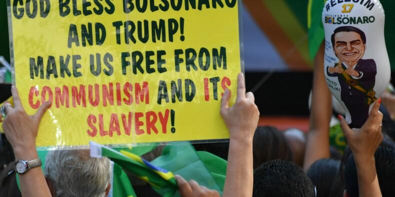 """Brésil: malgré un programme flou, les investisseurs """"votent"""" Bolsonaro"""