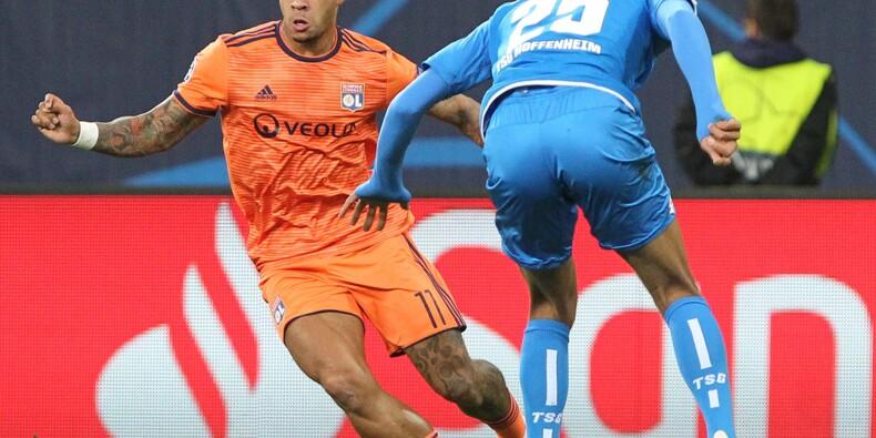 C1: Lyon rate l'exploit pour une minute à Hoffenheim
