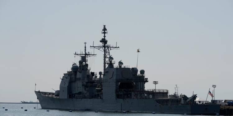 Deux destroyers américains dans le détroit de Taïwan
