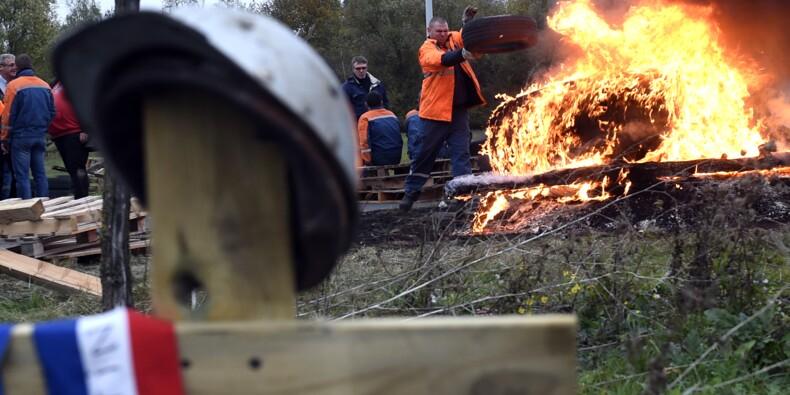 Ascoval: les salariés décident de poursuivre le blocage de l'aciérie