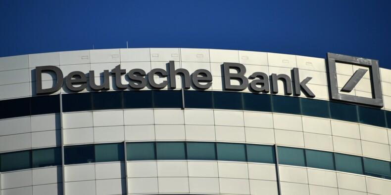 Deutsche Bank: la première banque allemande affiche des résultats en forte baisse