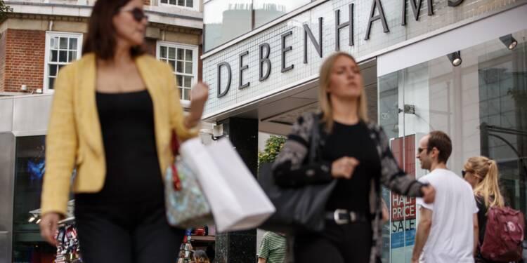 Le britannique Debenhams veut fermer 50 grands magasins menaçant 4.000 emplois