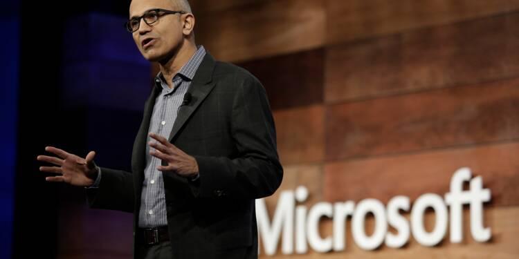 """Microsoft confirme sa bonne santé au premier trimestre grâce au """"cloud"""""""