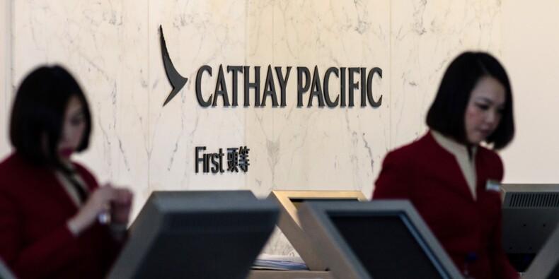 Cathay Pacific chute en Bourse plombée par la fuite de données de ses passagers