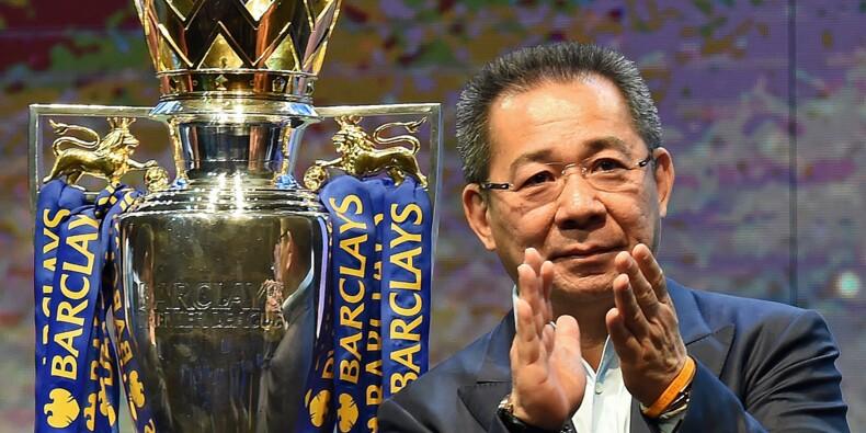 Leicester : le président du club est décédé dans le crash de son hélicoptère