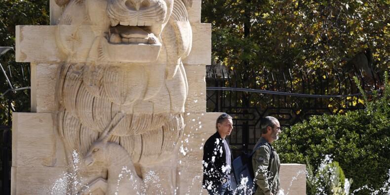 """Gardé par le """"lion de Palmyre"""", le Musée de Damas rouvre ses portes"""