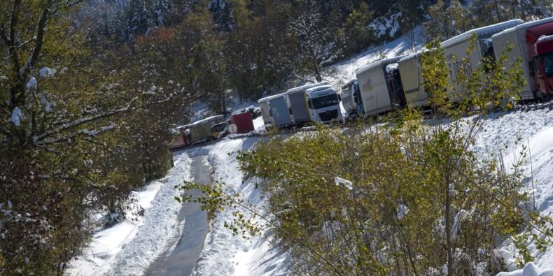 Intempéries: retour progressif à la normale sur les routes du Massif central