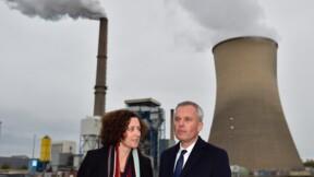 A Saint-Avold, de Rugy promet d'accompagner les salariés de la centrale à charbon
