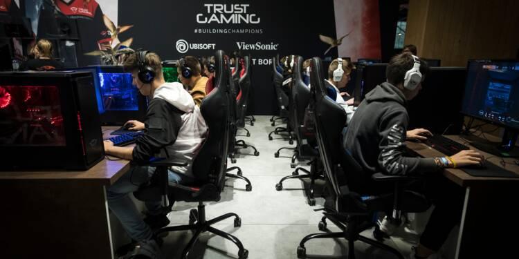 A la Paris Games Week, l'environnement du e-sport en superstar