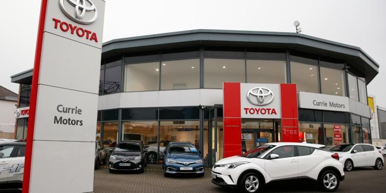 Toyota rappelle plus de 1,6 million de voitures pour des problèmes d'airbags