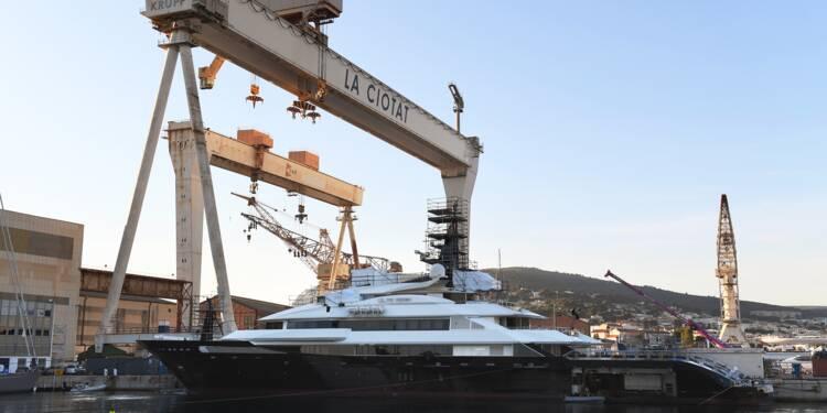 Méga-yachts: quand Marseille vient concurrencer La Ciotat