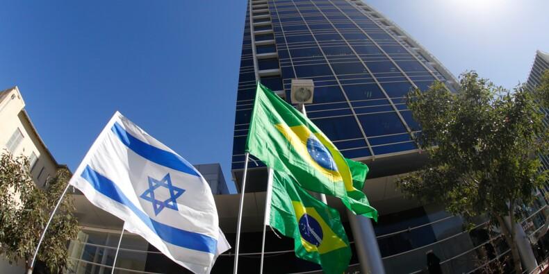 """Ambassade du Brésil à Jérusalem: une démarche """"illégale"""", selon les Palestiniens"""