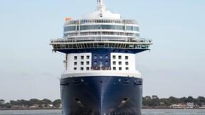 Le palace flottant Celebrity Edge quitte Saint-Nazaire pour les Etats-Unis