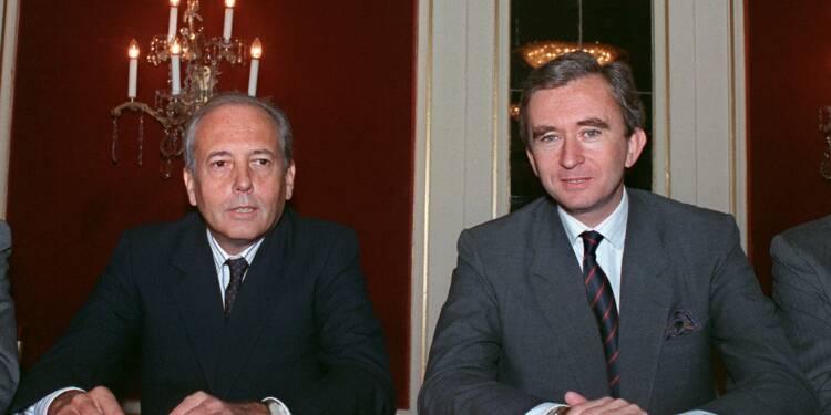 L'Elysée annonce le décès d'Alain Chevalier, l'un des fondateurs de LVMH