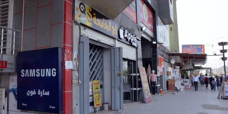 Irak: à Mossoul, l'argent circule mais loin des banques
