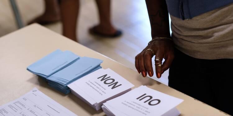 Nouvelle-Calédonie: le non à l'indépendance l'emporte avec 59,5% des voix (résultats partiels selon des médias locaux)