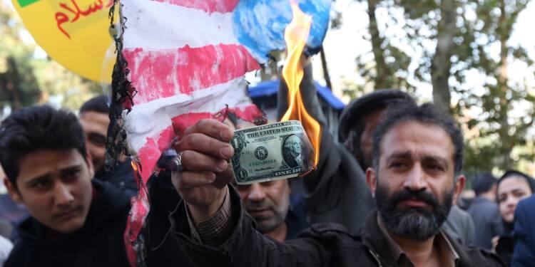 A la veille des sanctions, l'Iran marque la prise de l'ambassade américaine