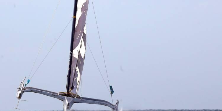 Route du Rhum: avarie majeure sur le bateau Edmond de Rothschild skippé par Josse