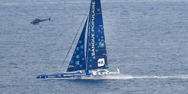 Route du Rhum: le bateau d'Armel Le Cléac'h a chaviré, le skipper en sécurité