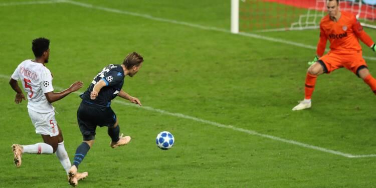 Ligue des champions: Monaco, encore humilié à domicile, coule à pic
