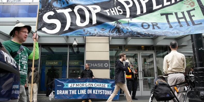 La justice américaine suspend l'oléoduc Keystone XL, un revers pour Trump