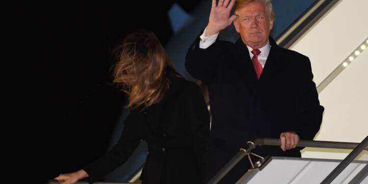 A Paris, Trump attaque Macron sur sa proposition d'armée européenne