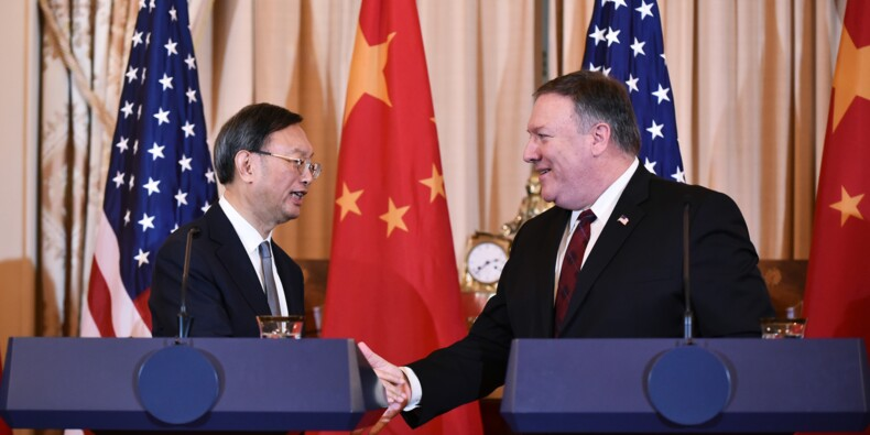 """Entre Etats-Unis et Chine, des différends, des mises en garde mais pas de """"guerre froide"""""""