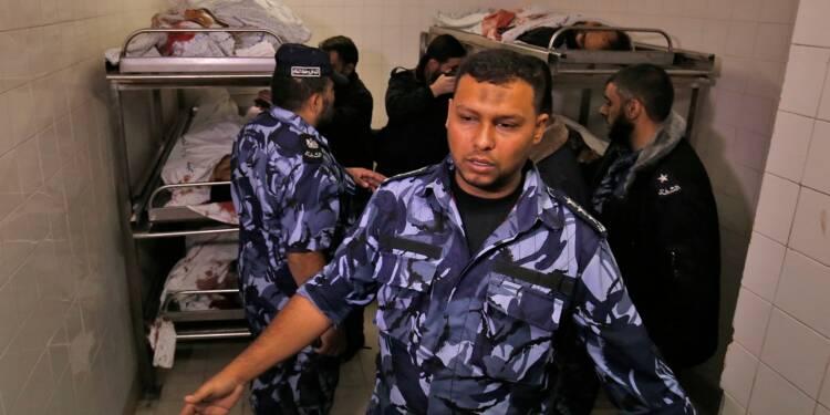 Gaza: échanges de tirs lors d'une opération israélienne, un officier israélien et 6 Palestiniens tués