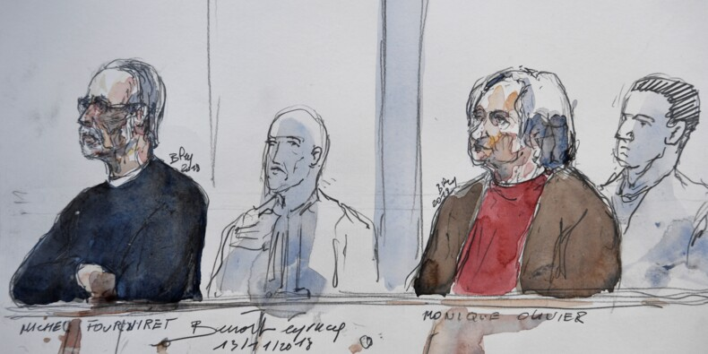 """Assassinat pour le trésor des """"postiches"""": la perpétuité requise contre Fourniret et Olivier"""