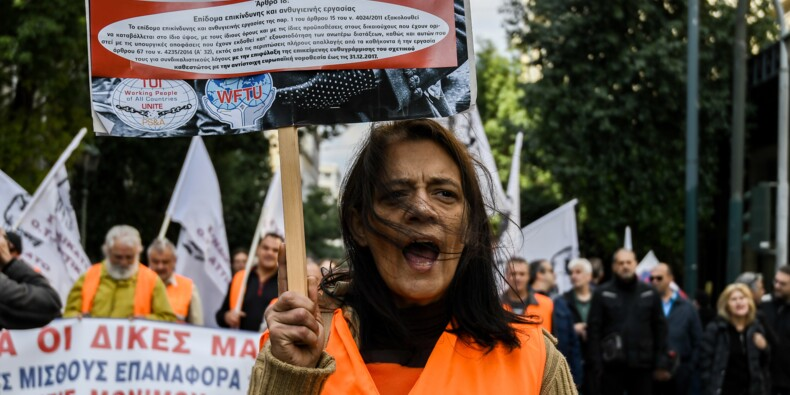 Grèce : le secteur public en grève pour en finir avec l'austérité