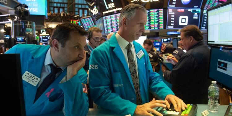 Wall Street rattrapée par les inquiétudes sur la croissance mondiale