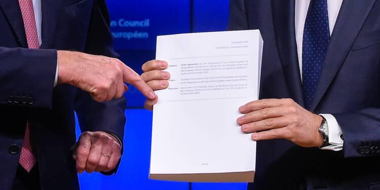 Brexit: les principaux points du projet d'accord de retrait