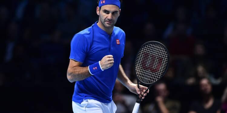 Masters: Federer en demi-finale après sa victoire sur Anderson