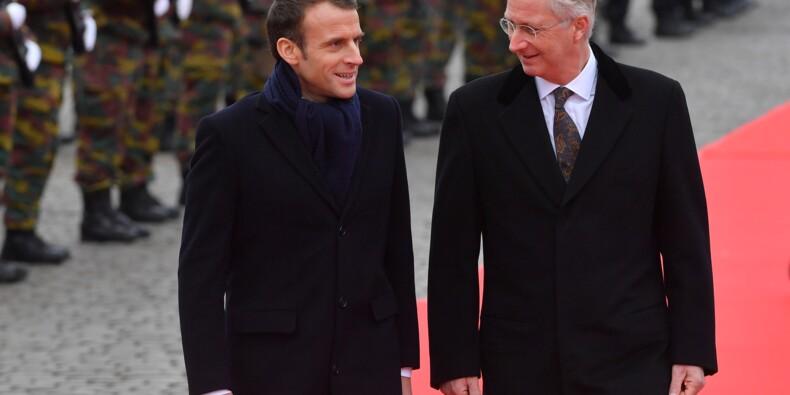 Macron en Belgique pour approfondir les bonnes relations entre voisins