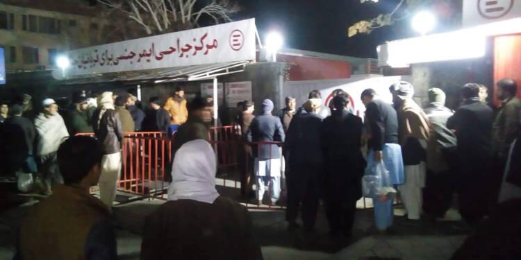 Au moins 40 morts dans un attentat-suicide pendant un rassemblement religieux à Kaboul