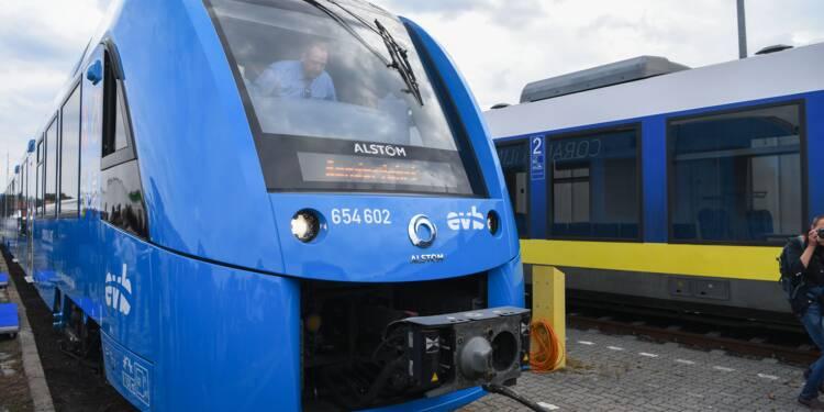 Le train à hydrogène français sur les rails