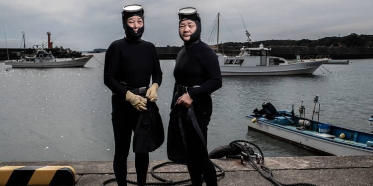 """Au Japon, les dernières """"femmes de la mer"""""""