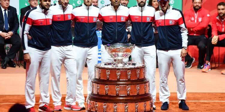 Coupe Davis: avec Chardy et Tsonga, Noah tente de prendre la Croatie à contre-pied