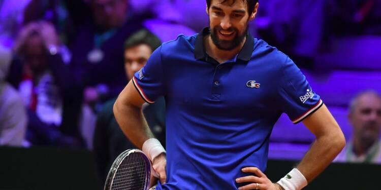 Coupe Davis: Chardy balayé par Coric, Tsonga sous pression