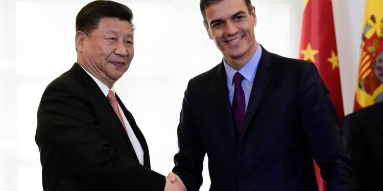 La Chine mise sur l'Espagne et le Portugal comme alliés dans une Europe méfiante