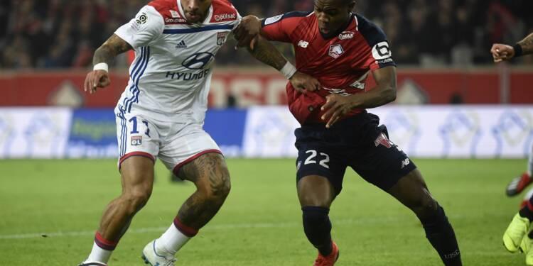 L1: Lyon rugit et arrache le nul à Lille