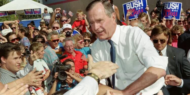 L'Amérique prépare son hommage à George H. W. Bush