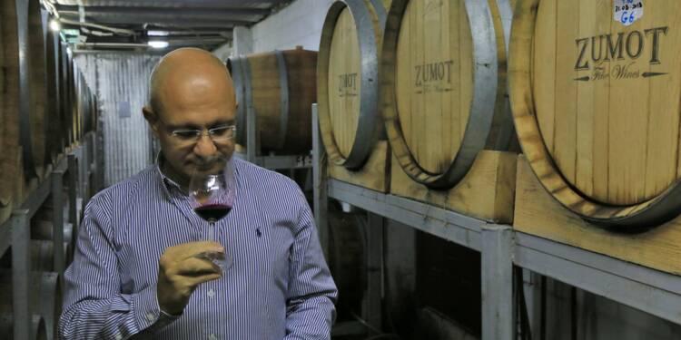 Des chrétiens de Jordanie rêvent de placer leur vin sur la carte mondiale
