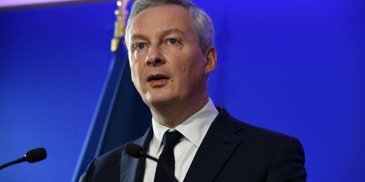 """""""Gilets jaunes"""": """"il faut accélérer la baisse des impôts"""", juge Le Maire"""