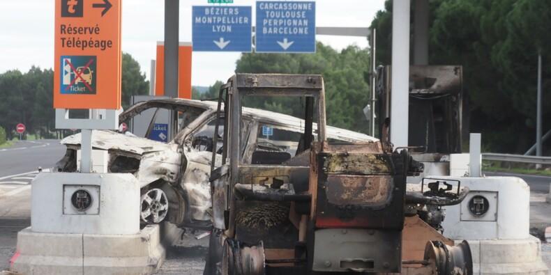 """""""Gilets jaunes"""": 400 millions d'euros de pertes pour les transporteurs routiers"""