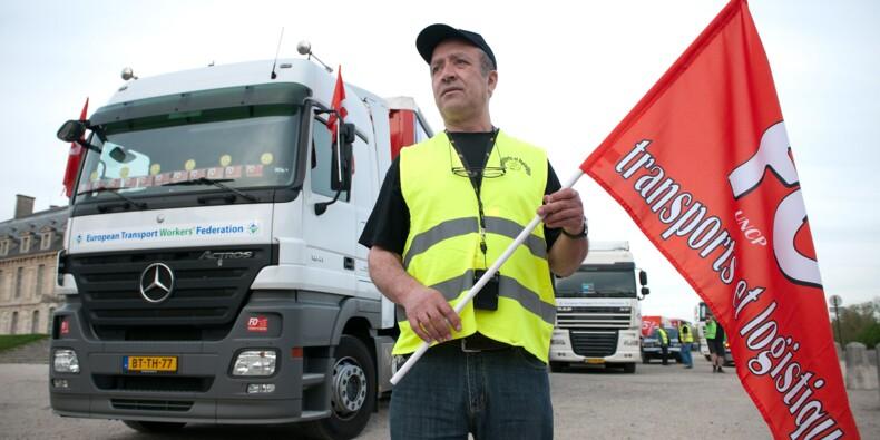 Transport routier: CGT et FO appellent à la grève à partir de dimanche soir