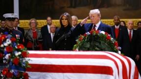 Trump se joint au concert d'hommages à George H.W. Bush