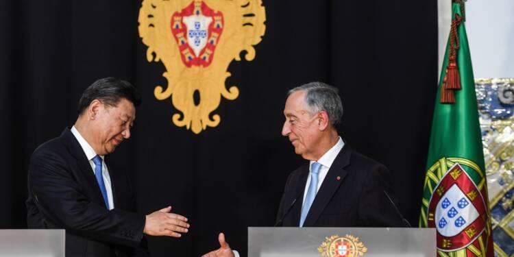 Xi Jinping en visite au Portugal, pays rendu à l'investissement chinois