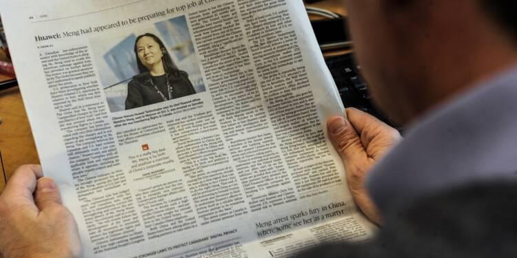 "La ""princesse"" de Huawei au piège de la rivalité Chine-USA"